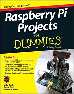 Raspberry Pi Projects For Dummies Paperback-cover