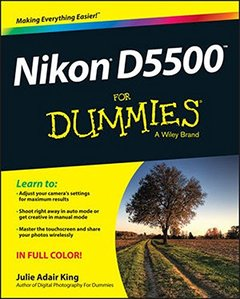 Nikon D5500 For Dummies Paperback-cover