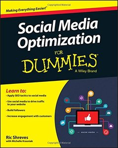 Social Media Optimization For Dummies Paperback-cover