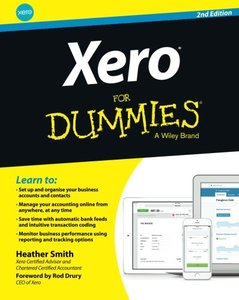 Xero For Dummies Paperback-cover