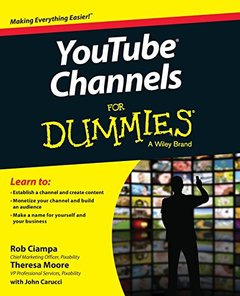 YouTube Channels For Dummies Paperback-cover