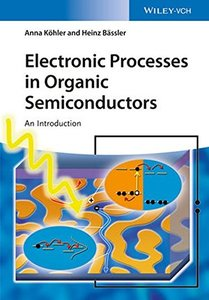 Electronic Processes in Organic Semiconductors: An Introduction Paperback-cover