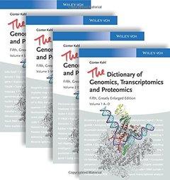 The Dictionary of Genomics, Transcriptomics and Proteomics Hardcover
