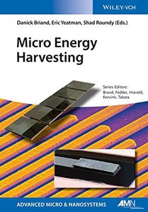 Micro Energy Harvesting (Advanced Micro and Nanosystems) Hardcover-cover