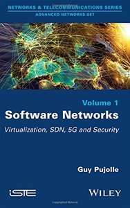 Software Networks: Virtualization, SDN, 5G, Security (Hardcover)-cover