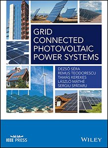 Grid Connected Photovoltaic Power Systems (Wiley - IEEE) Hardcover-cover