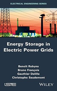 Energy Storage in Electric Power Grids Hardcover-cover