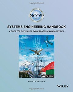 INCOSE Systems Engineering Handbook: A Guide for System Life Cycle Processes and Activities Paperback-cover