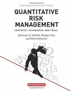 Quantitative Risk Management: Concepts, Techniques and Tools (Hardcover)-cover