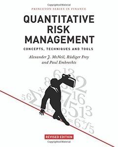 Quantitative Risk Management: Concepts, Techniques and Tools (Hardcover)-cover
