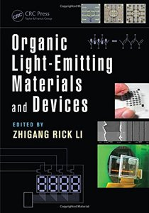 Organic Light-Emitting Materials and Devices, Second Edition Hardcover-cover