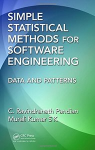 Simple Statistical Methods for Software Engineering: Data and Patterns Hardcover-cover