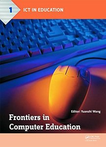 Frontiers in Computer Education Hardcover-cover