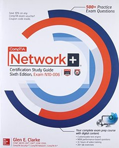 CompTIA Network+ Certification Study Guide, Sixth Edition (Exam N10-006) , 6/e(Paperback)-cover