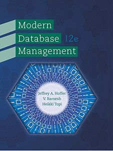 Modern Database Management (12th Edition) 12th Edition-cover