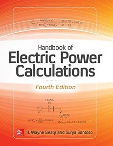 Handbook of Electric Power Calculations 4/e-cover