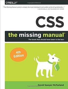 CSS: The Missing Manual, 4/e (Paperback)-cover