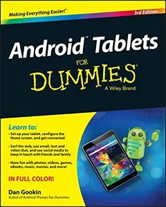 Android Tablets For Dummies, 3/e (Paperback)-cover