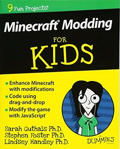 Minecraft Modding For Kids For Dummies(Paperback)-cover