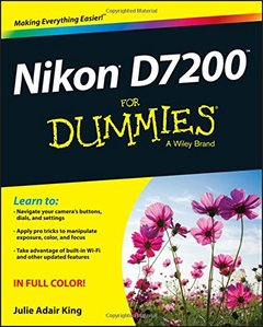 Nikon D7200 For Dummies(Paperback)-cover