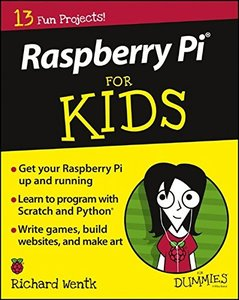 Raspberry Pi For Kids For Dummies(Paperback)-cover