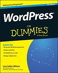 WordPress For Dummies, 7/e(Paperback)-cover