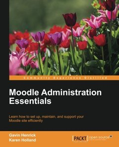 Moodle Administration Essentials-cover