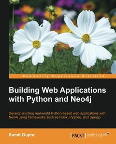 Building Web Applications with Python and Neo4j (Paperback)-cover