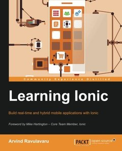 Learning Ionic - Build Hybrid Mobile Applications with HTML5 (Paperback)-cover