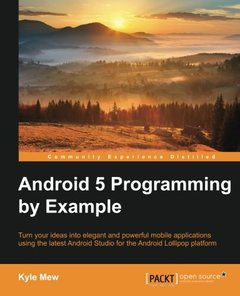 Android 5 Programming by Example(Paperback)-cover