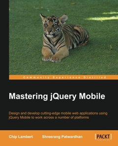 Mastering jQuery Mobile (Paperback)-cover