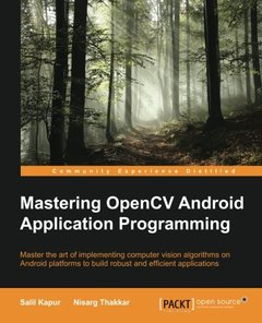 Mastering OpenCV Android Application Programming (Paperback)-cover