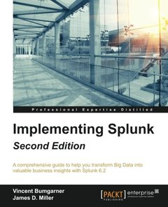 Implementing Splunk, 2/e (Paperback)-cover