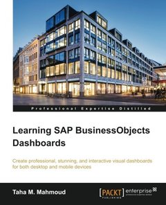 Learning SAP BusinessObjects Dashboards-cover