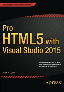 Pro HTML5 with Visual Studio 2015 (Paperback)-cover