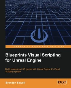 Blueprints Visual Scripting for Unreal Engine (Paperback)-cover
