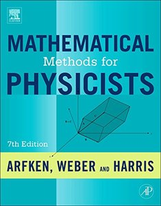 Mathematical Methods for Physicists, 7/e : A Comprehensive Guide (Hardcover)-cover