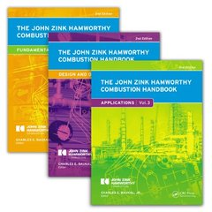 The John Zink Hamworthy Combustion Handbook, 2/e : Three-Volume Set (Hardcover)-cover