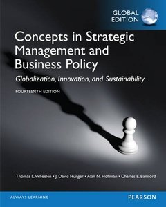 Concepts in Strategic Management and Business Policy: Globalization, Innovation, and Sustainability, 14/e (IE-Paperback)-cover