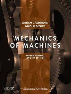 Mechanics of Machines, 2/e (IE-Paperback)-cover