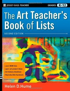 The Art Teacher's Book of Lists, 2/e (Paperback)-cover