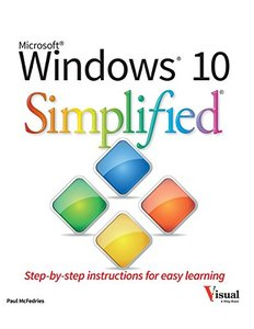 Windows 10 Simplified (Paperback)-cover