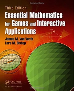 Essential Mathematics for Games and Interactive Applications, 3/e (Hardcover)-cover