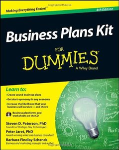 Business Plans Kit For Dummies, 4/e (Paperback)-cover