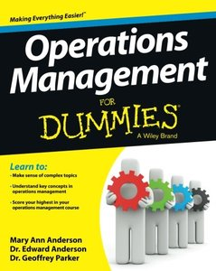 Operations Management For Dummies (Paperback)-cover