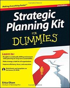 Strategic Planning Kit For Dummies, 2/e (Paperback)-cover