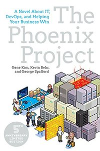 The Phoenix Project: A Novel about IT, DevOps, and Helping Your Business Win (Paperback)-cover
