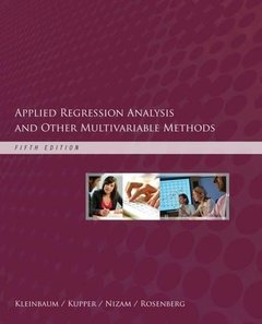 Applied Regression Analysis and Other Multivariable Methods, 5/e (Hardcover)-cover