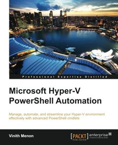 Microsoft Hyper-V PowerShell Automation-cover