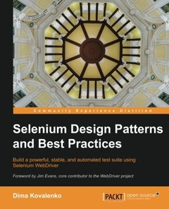 Selenium Design Patterns and Best Practices (Paperback)-cover